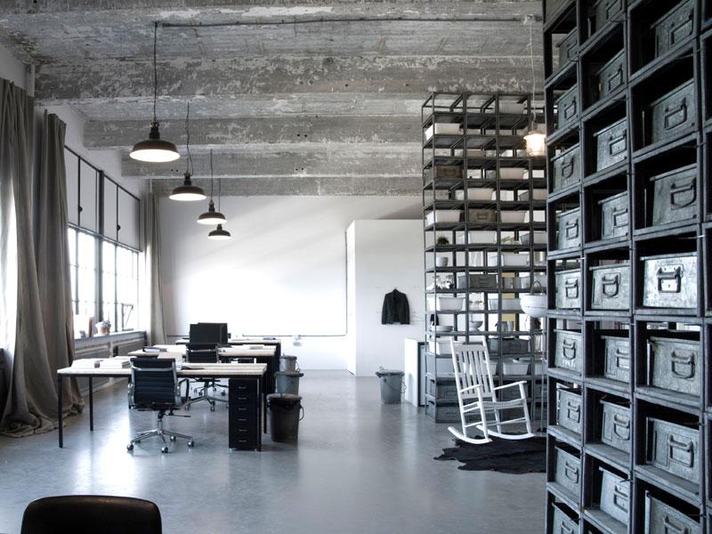 gietvloer in kantoorruimte
