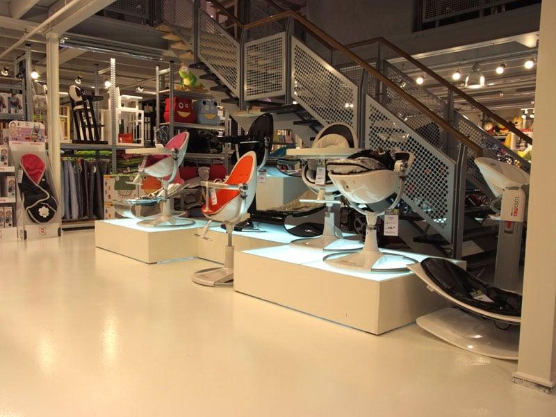 vloercoating moderne winkel