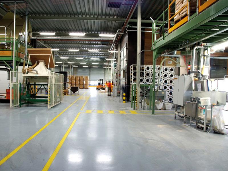 bedrijfsvloer fabriek