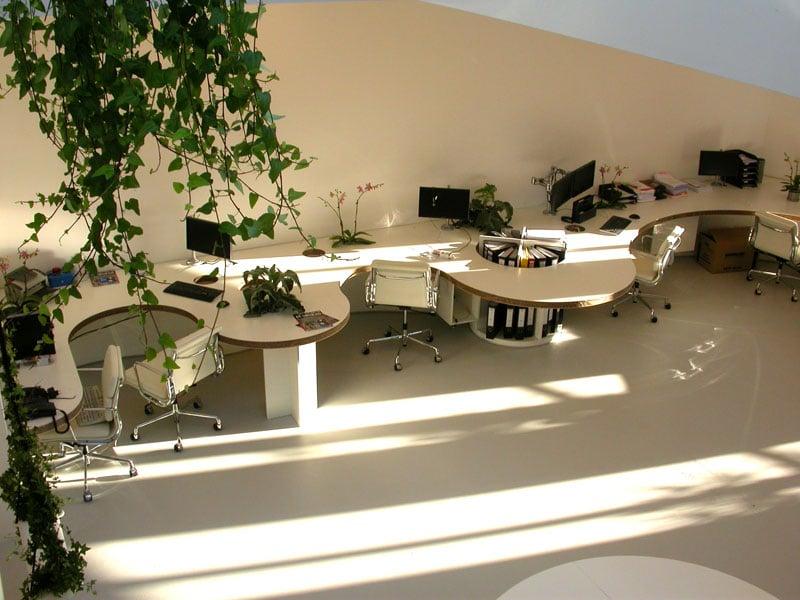 gietvloer kantoorruimte