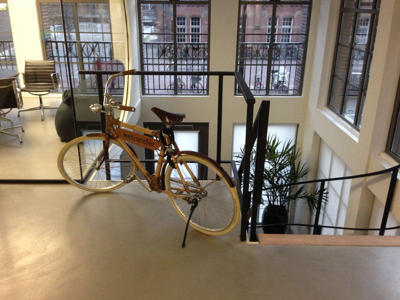 moderne kantoorvloer